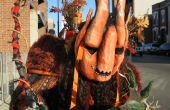 Der große Kürbis-Halloween-Kostüm