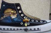 Personalisieren Sie Schuhe mit Acryl