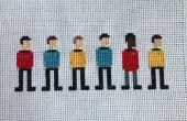 Star Trek Kreuzstich: Die ursprüngliche Reihe-Crew