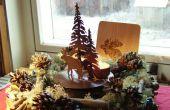 Treetalks Weihnachtskranz, kostengünstige und einfache