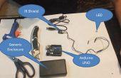 Bauen ein XBMC/KODI Fernbedienung mit Arduino, IR-Sensor-Schild und VB.NET
