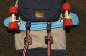 Billige DIY Skateboard Rucksack