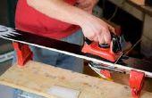 Wie eine schnelle Eisen Wachs auf Skiern zu tun