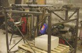 CNC-Maschine für die Gestaltung der großer Stücken von Polystyrol-Hartschaum