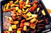 König glasierte gebratene Karotten (GF)
