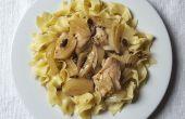 Slow Cooker Hähnchenschenkel mit Oliven und Fenchel