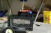 Bauen ein Milch-Kiste-Cart