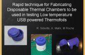 Schnelle Verfahren zur Herstellung von Einweg-thermische Kammern bei niedrigen Temperatur USB testen verwendet werden-powered Thermofoils und Heizelemente