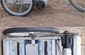 Gregs elektrisch angetriebene Fahrrad-Anhänger