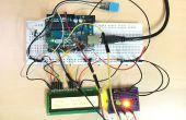 Temp & Feuchtesensor mit LCD Disp & LED-Anzeige