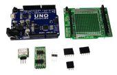 Mit Arduino UNO als 3-CH hochauflösende DACs