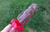 Hausgemachte Fudgesicles Nutella