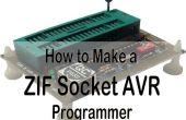 Universellen Programmer für AVR und S51 plus ZIF-Sockel!