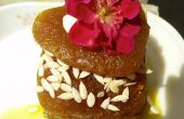 Kürbis Rezept Halwa (indische Dessert)