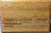 Bambus-Lithium-Batterie ein Batteriewächter hinzufügen
