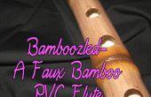 Faux Bambusflöte PVC verwirrt-A