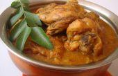 Einfache indische Chicken Curry
