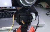 Ferngesteuerter Webcam mit Arduino, SensorMonkey, jQuery und Justin.tv