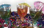 Neujahrs Rezept: funkelnde Dum Dums Getränke für Kinder