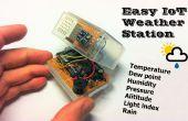 Einfach IoT-Wetterstation mit mehreren Sensoren