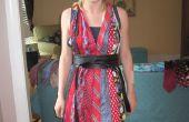 Wie erstelle ich ein Neckholder-Kleid aus Krawatten