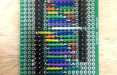 9-Charlieplexor (9-polig für 72 LEDs)