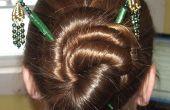 Frisuren für Haar klebt