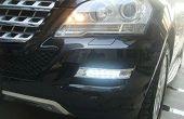 Mercedes-Benz ML LED Tagfahrlicht installieren