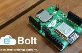 Schnittstellen-Bolt mit Arduino: Bolzen UART