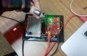 Arduino angeschlossen an Wifi mit ESP8266 gesteuert durch BLYNK (mit einem Mac OS X)