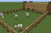 Wie man eine Farm auf Minecraft bauen