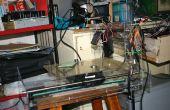 Laser-Gravur-Maschine CNC (Herstellung von Laser-Gravur-Maschine durch Verwendung verschwendet CD-Laufwerk oder Drucker)