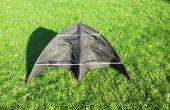 Bauen Sie einen Delta-Drachen aus einem Regenschirm