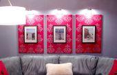 Schablonen, Leinwand und Rahmen mit StencilPro
