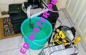 Machbarkeitsstudie: Ein gekühltes Wasser Klimaanlage Prototyp - außer Dienst gestellt.