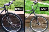 Ersetzen eine Mountain Bike Vordergabel für ältere MTBs
