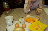 5 Minuten perfekte Deli-Style Egg Bagel Sandwich in der Mikrowelle - lecker