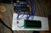 Einfach LCD-display mit Arduino