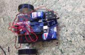 Bauen Sie einen einfachen Roboter mit einem Arduino und L293 (H-Bridge)