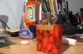 Ein Zippo-Gehäuse aus einer Tic-Tac-Box