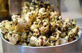 PopKale - wie erstelle ich erfahrene Popcorn mit Trüffel-Öl infundiert Grünkohl Chip Streusel