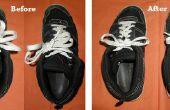 Wie zu verkürzen Ihre Schnürsenkel wenn sie ve geworden zu lange zu einzelnen Tie