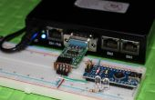 Zwei LEDs steuern mit MikroTik Router Board 433 & Arduino