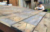 Rampe - wie man eine stabile Garten Schuppen Rampe bauen Schuppen