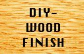 DIY: Bienenwachs und Öl Holz Finish Experimente
