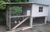 Hausgemachte Hühnerstall