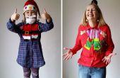 Mein DIY Upcycled Standardarbeits-Weihnachten Blusen