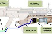 Airsoft-Rapid Fire Grenade Launcher Mod
