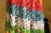 Senbazuru: 1000 Kraniche aus Papier