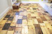 Erstellen einer DIY Palette Holz Boden mit Kostenloses Brennholz